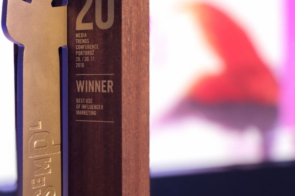 "Nectar 20 years it does matter campaign – the best ""influencer campaign"" in the region! Gold Sempler is won in Portorož!"