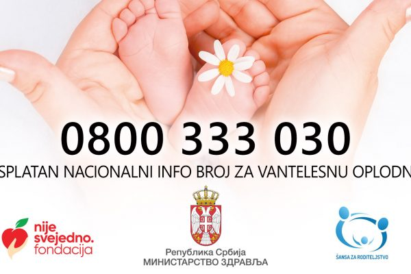 Free national number for in vitro fertilization has been activated
