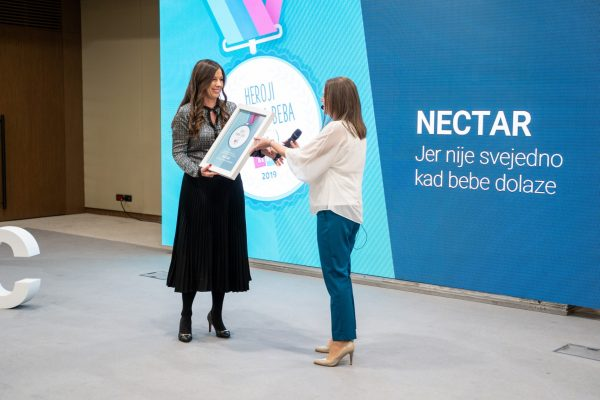 Nectar was awarded with special contribution to parenthood