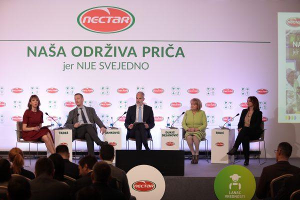 Nectar prvi u regionu uvodi ambalažu biljnog porekla i investira više od 7 miliona eura u proizvodnju 'zelene energije'